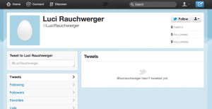 Rachel Rauchwerger Twitter Account