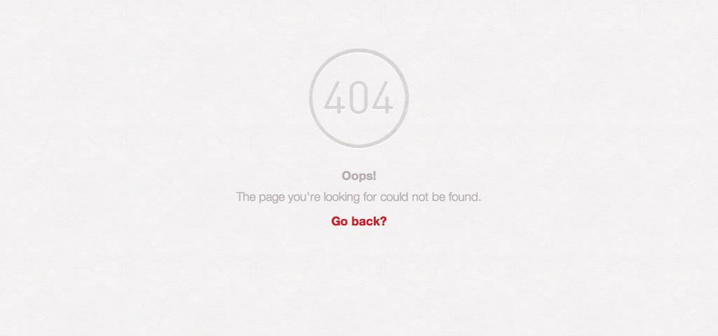 Pinterest 404 Page