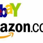 Amazon and eBay logos