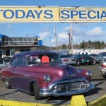 "Old car for sale as ""Today's Special"""