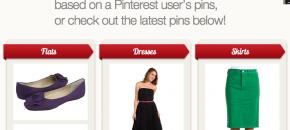 Zappos PinPointing screenshot